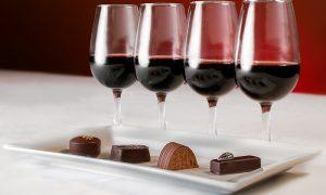 provsmaka choklad och vin